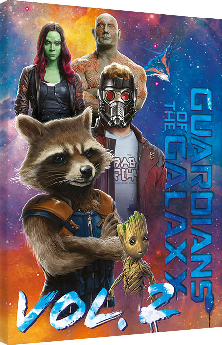 leinwand poster bilder guardians of the galaxy vol 2 the guardians bei europosters. Black Bedroom Furniture Sets. Home Design Ideas