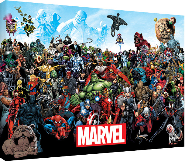 leinwand poster bilder marvel universe bei europosters. Black Bedroom Furniture Sets. Home Design Ideas