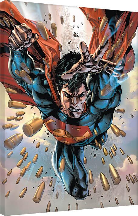leinwand poster bilder superman 75th bei europosters