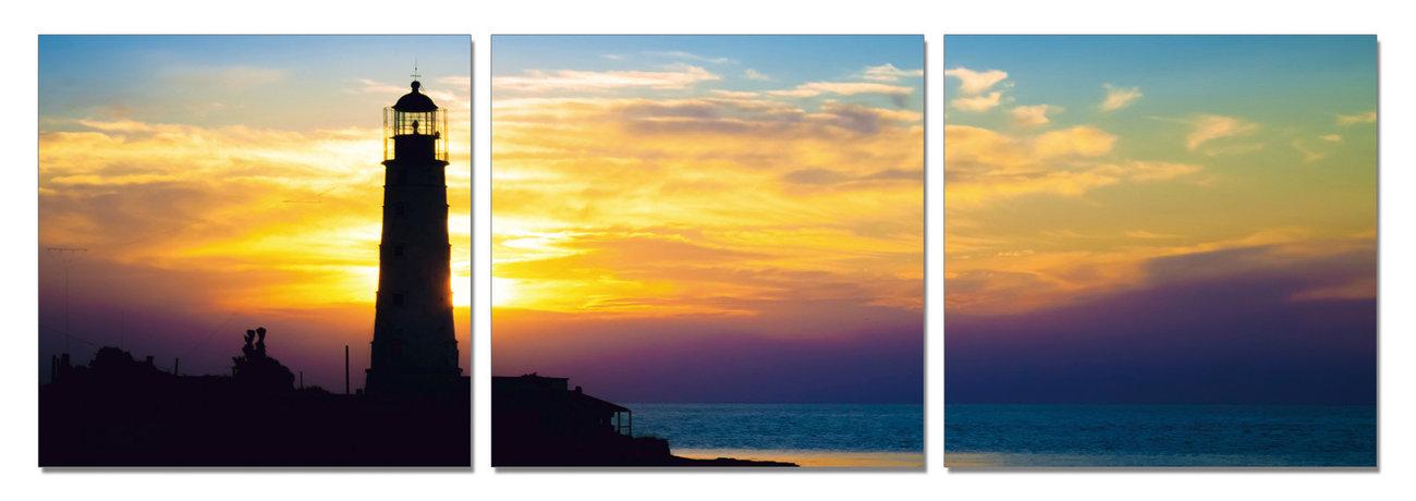 Cuadro Lighthouse at Sunrise