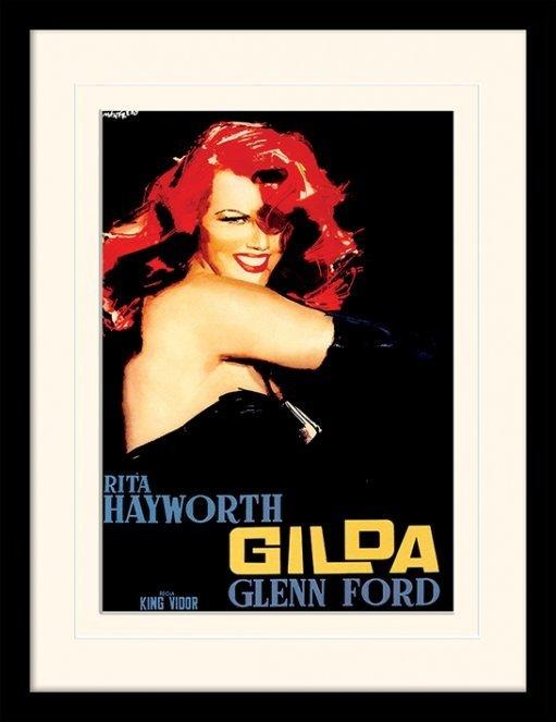 Locandine Film in Plexiglass - GILDA - rita hayworth ...