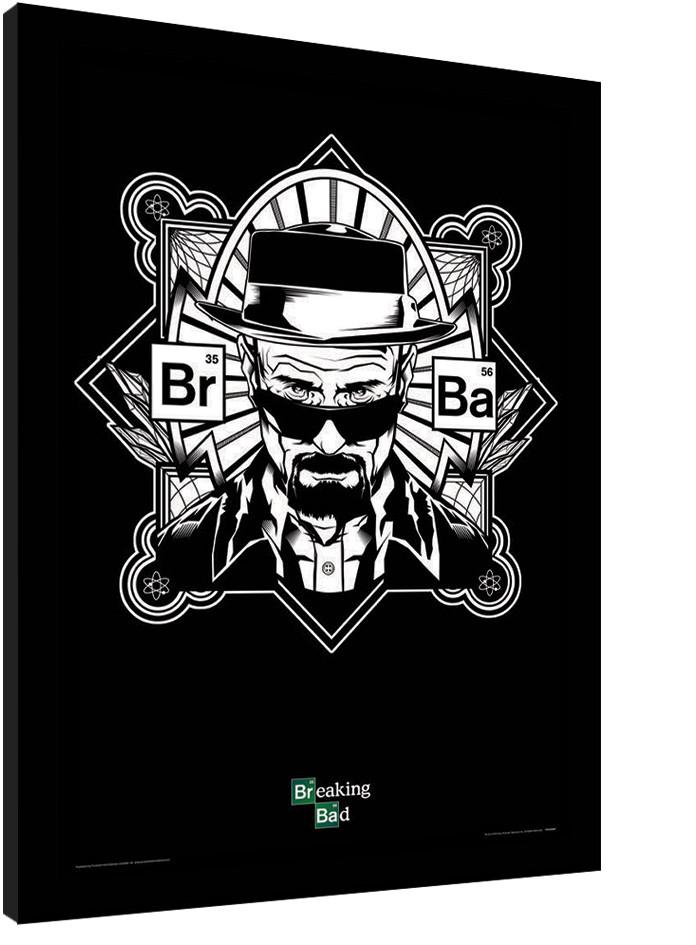 BREAKING BAD - obey heisenberg Poster enmarcado   Europosters.es