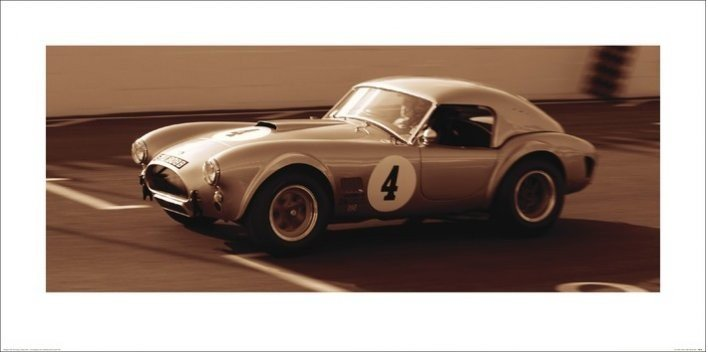 AC Cobra 1962, Obrazová reprodukcia