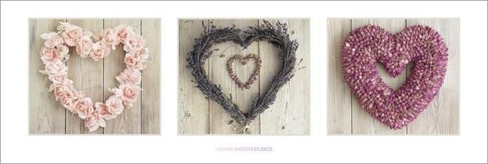 Howard Shooter - Love Hearts Plakat