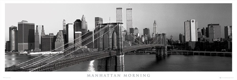 Manhattan - morning Plakat
