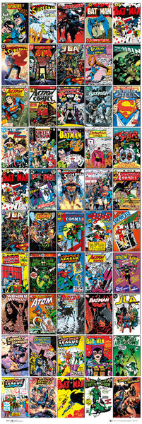 DC COMICS - covers Plakat