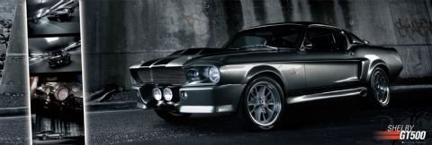 Easton - Shelby GT 500  Plakát