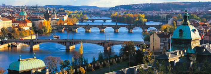 Prague – Prague bridges Plakát