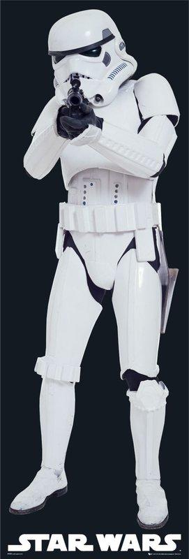 STAR WARS - stormstrooper gun plakát