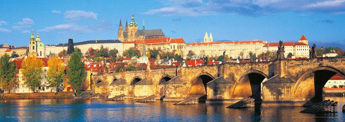 Plakát Praha - Hradčany / den