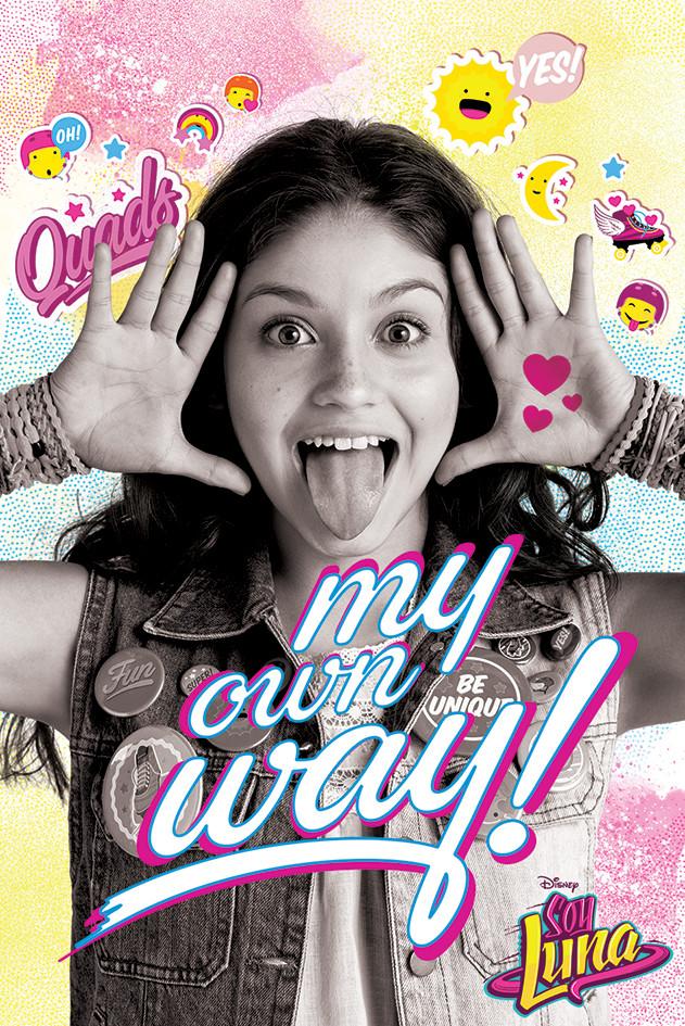 Soy Luna My Own Way Plakat Obraz Na Zed Posters Cz