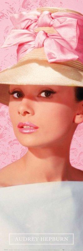 Audrey hepburn pink hat p ster l mina compra en - Laminas audrey hepburn ...