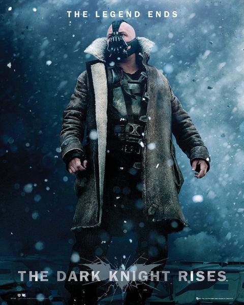Poster BATMAN DARK KNIGHT RISES