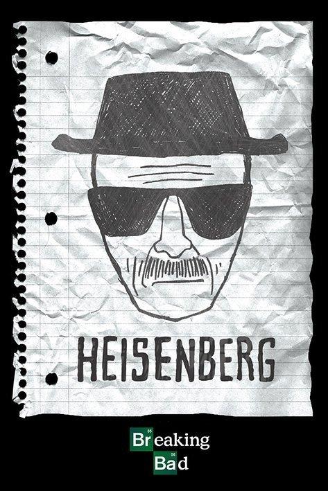 breaking bad heisenberg want poster plakat 3 1 gratis. Black Bedroom Furniture Sets. Home Design Ideas