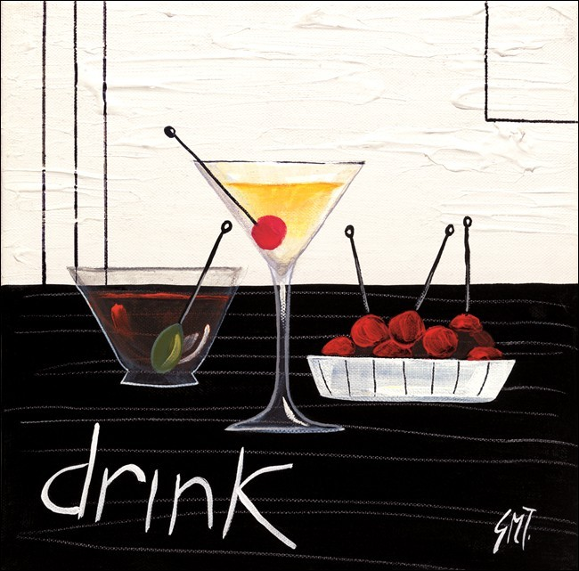 Kunst reproductie cocktail drink kunstdruk bestel nu op for Scandinavische cocktail