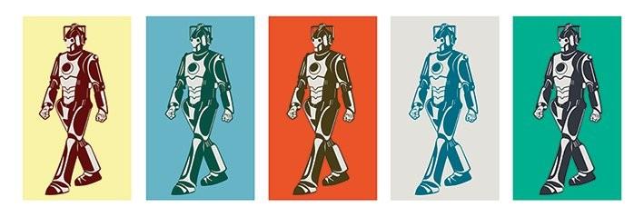 Póster Doctor Who - Walking Cyberman