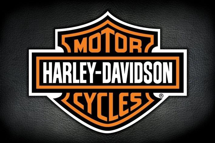 harley davidson logo poster plakat 3 1 gratis bei. Black Bedroom Furniture Sets. Home Design Ideas