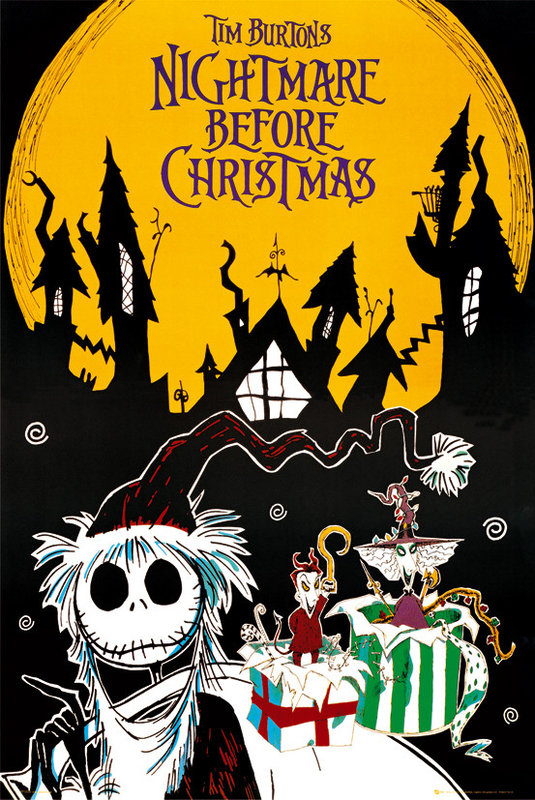 NIGHTMARE BEFORE CHRISTMAS - town pósters / láminas - Compra en ...