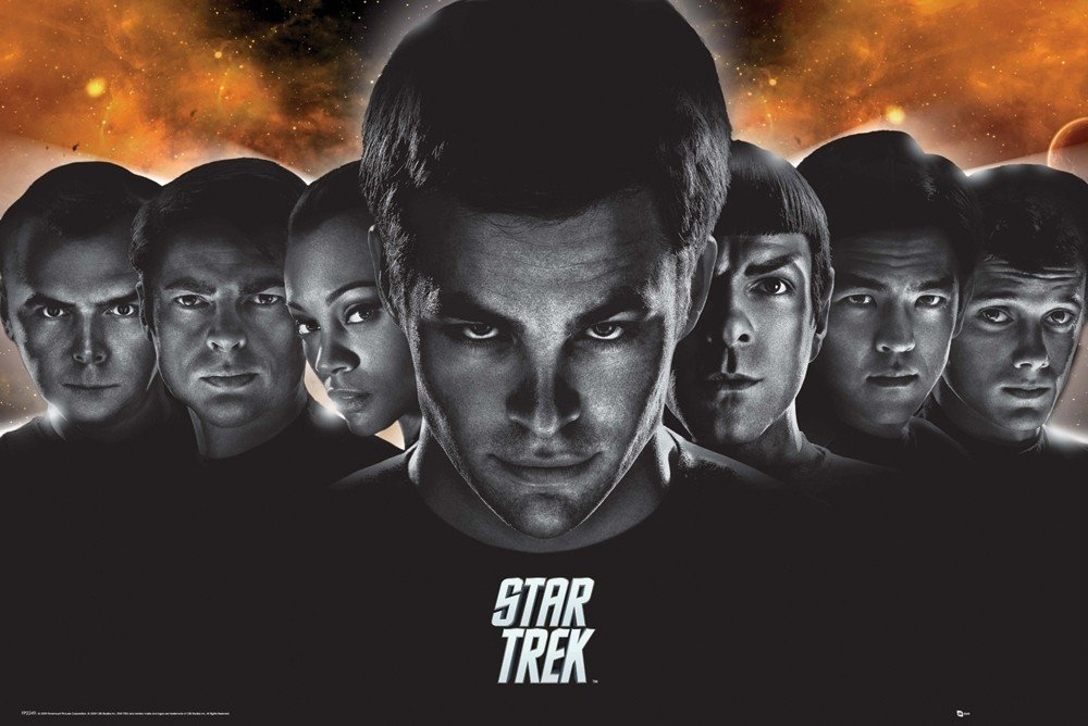 STAR TREK - heads Poster, Plakat | 3+1 GRATIS bei Europosters