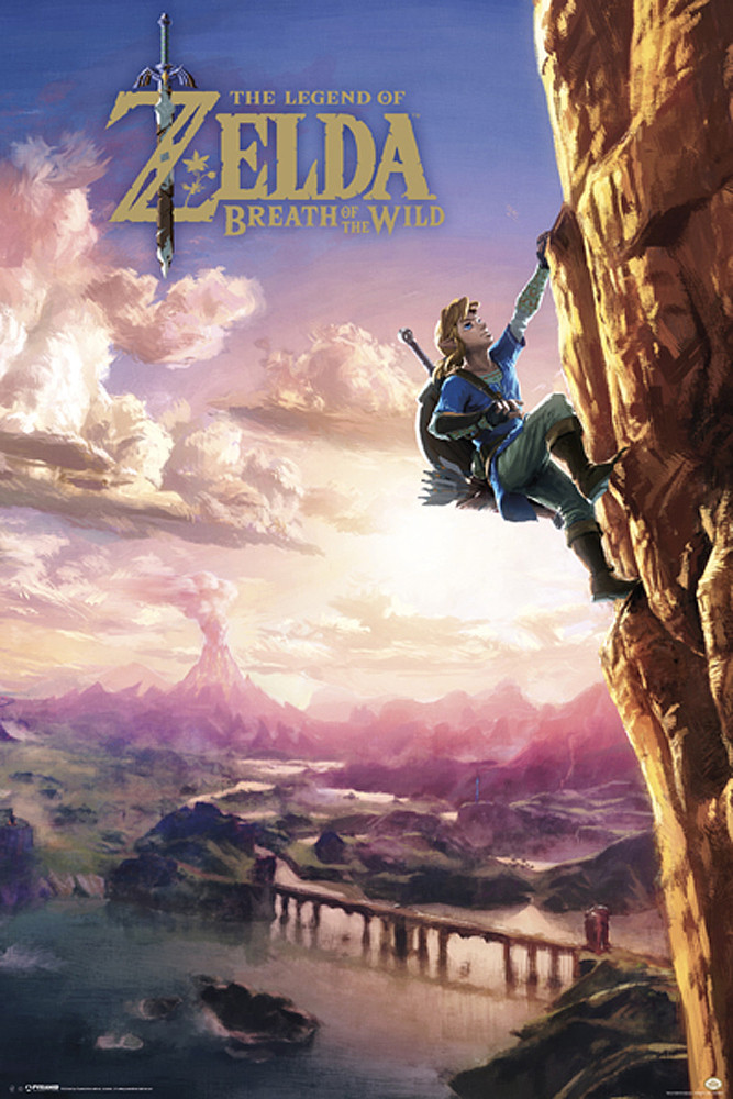 The Legend of Zelda - Breath Of The Wild Poster, Plakat | 3+1 GRATIS ...