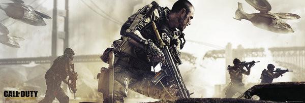 Call of Duty Advanced Warfare - Cover Poster