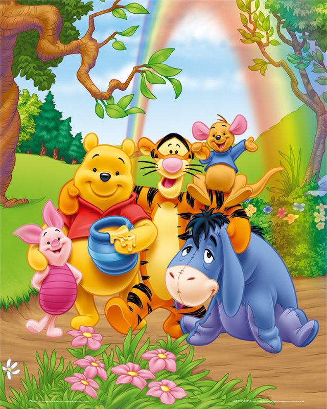 Winnie the pooh poster i tablou europosters 2 voltagebd Gallery
