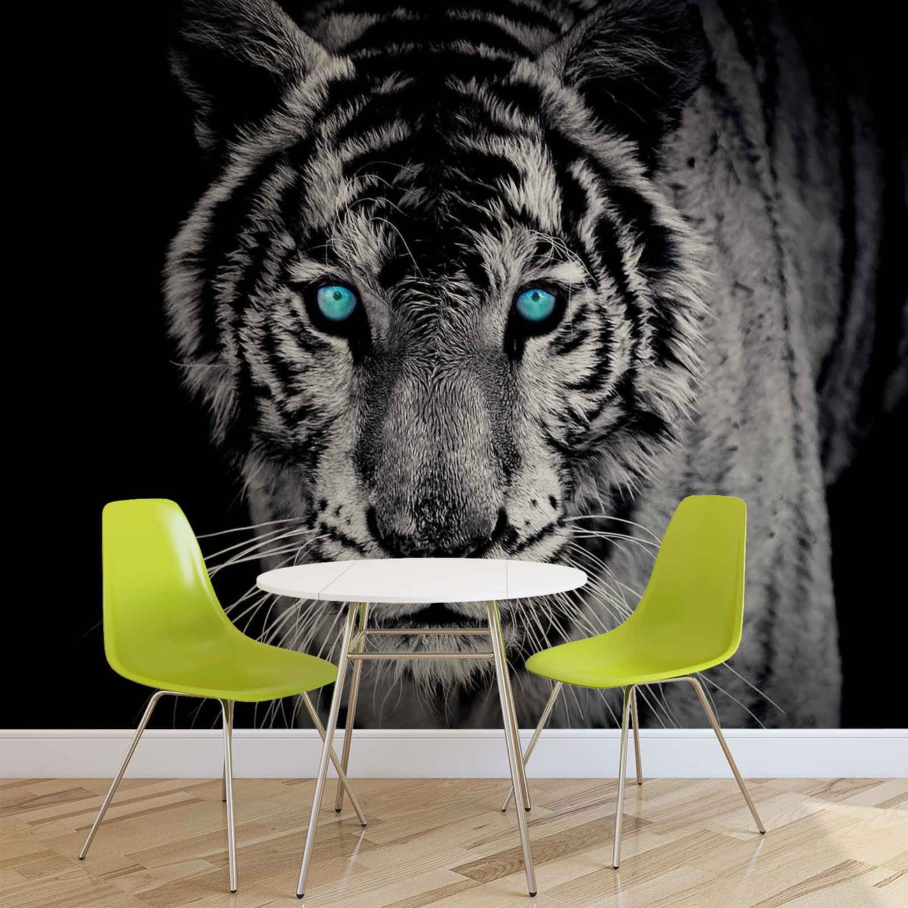 animal tigre poster mural papier peint acheter le sur. Black Bedroom Furniture Sets. Home Design Ideas