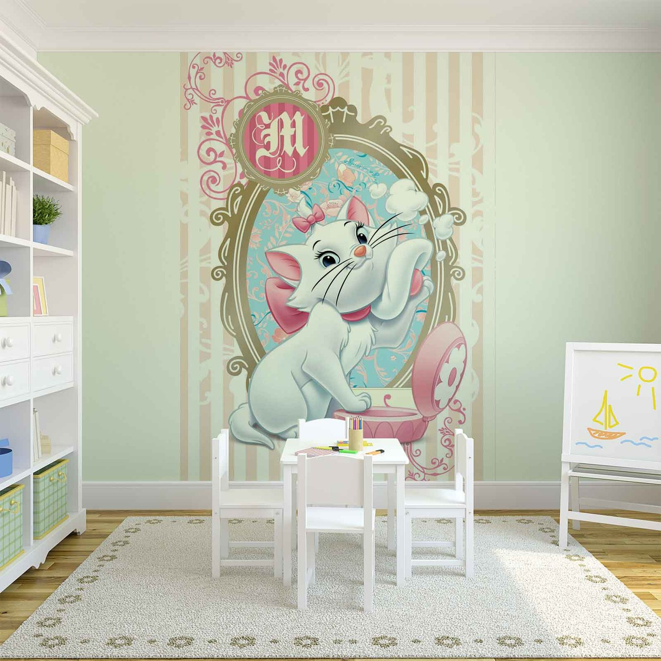 disney aristochats marie poster mural papier peint. Black Bedroom Furniture Sets. Home Design Ideas