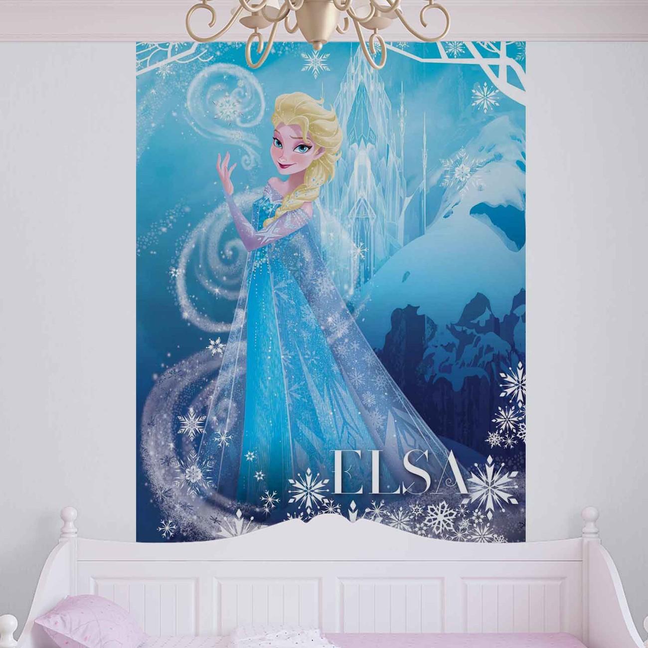 disney la reine des neiges poster mural papier peint. Black Bedroom Furniture Sets. Home Design Ideas