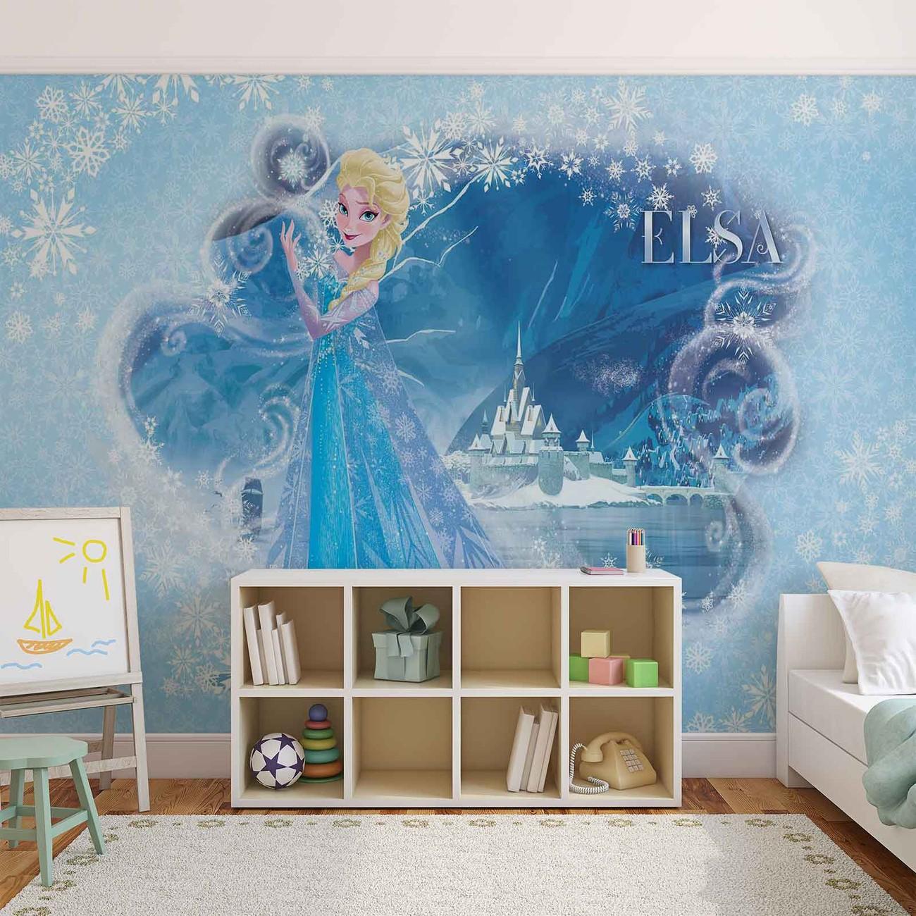 Disney la reine des neiges elsa poster mural papier peint acheter le sur - Papier peint reine des neiges ...