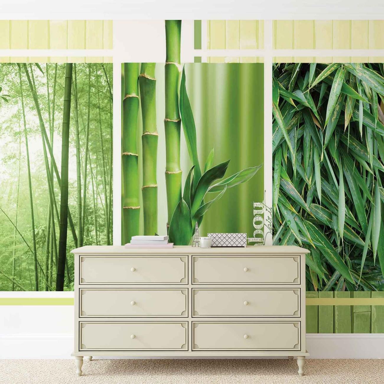 for t bambou nature poster mural papier peint acheter le sur. Black Bedroom Furniture Sets. Home Design Ideas