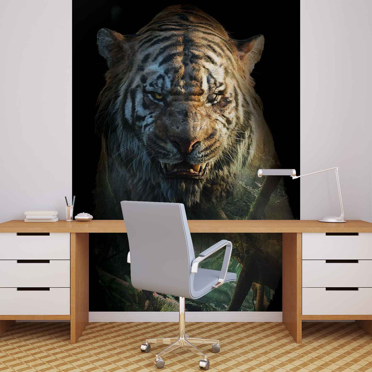 le livre de la jungle poster mural papier peint acheter le sur. Black Bedroom Furniture Sets. Home Design Ideas