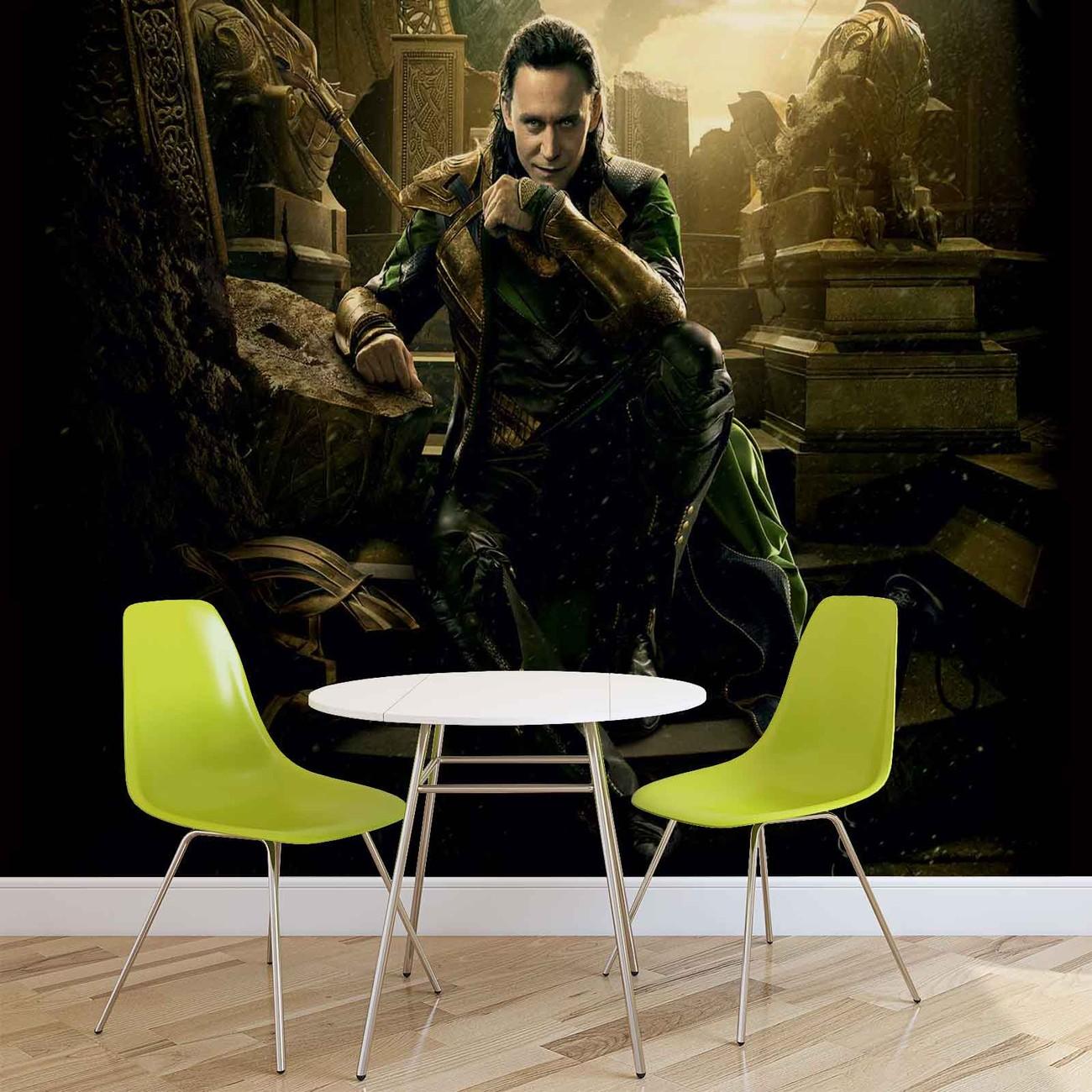 Marvel Avengers Loki Poster Mural Papier Peint Acheter Le Sur