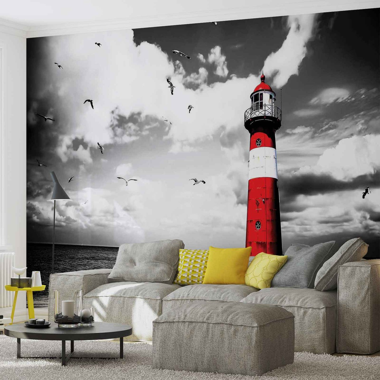 phare poster mural papier peint acheter le sur. Black Bedroom Furniture Sets. Home Design Ideas
