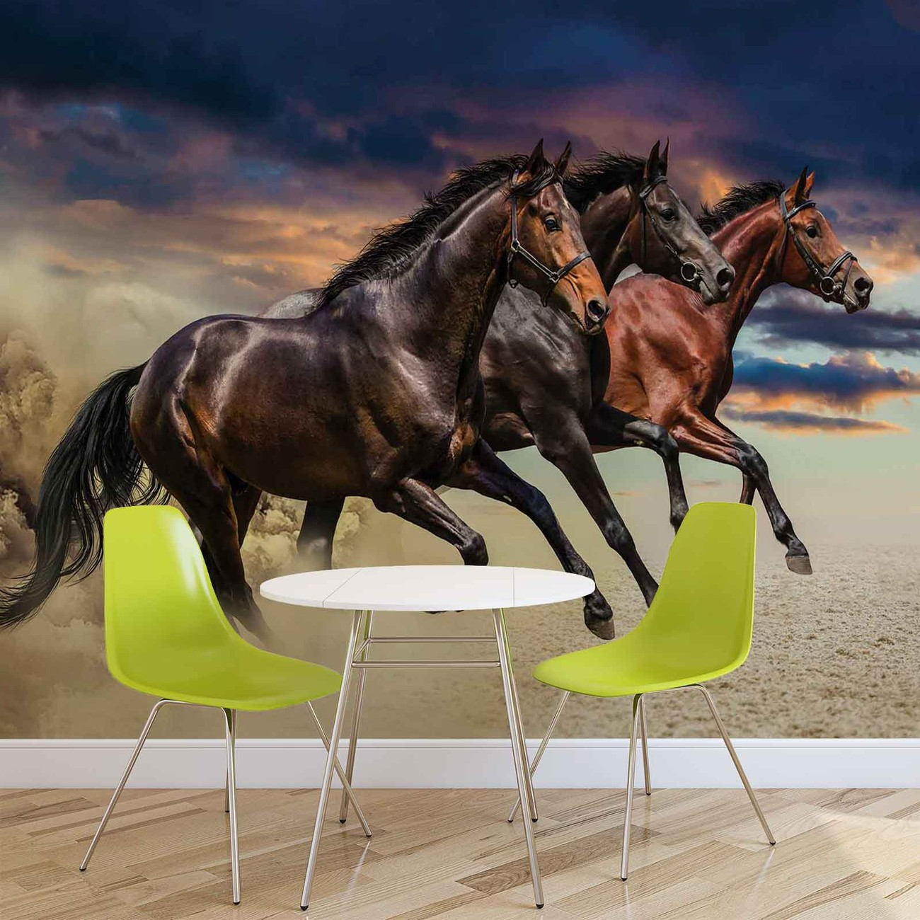 poney cheval poster mural papier peint acheter le sur. Black Bedroom Furniture Sets. Home Design Ideas