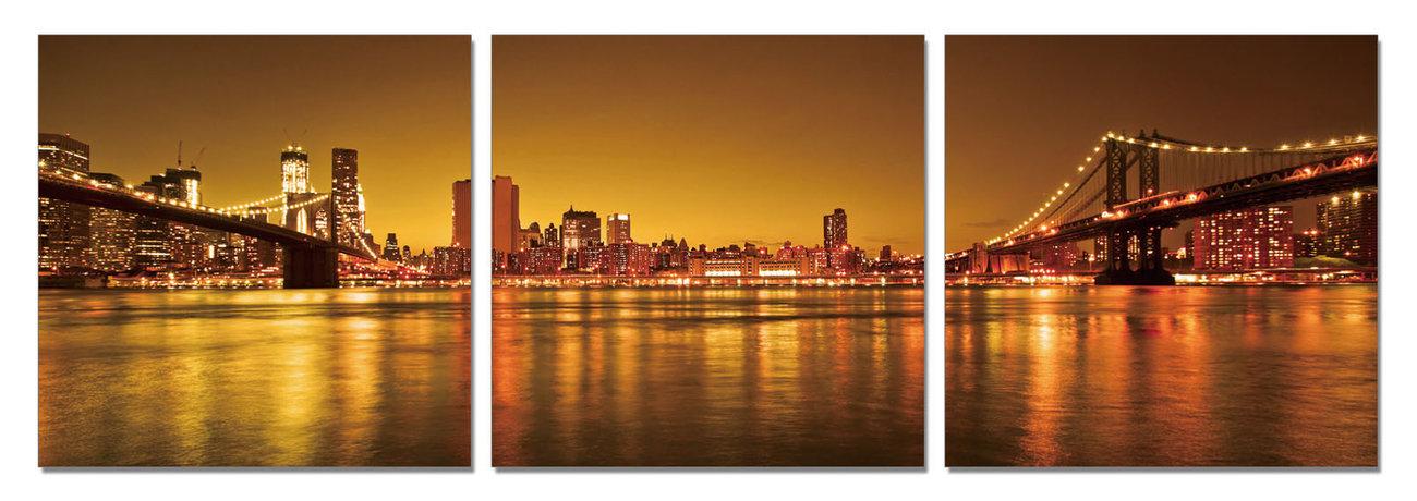 Quadro new york two ways to manhattan in vendita su for Case in vendita new york manhattan
