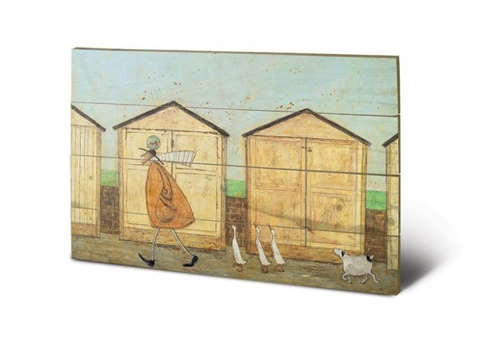 bild auf holz sam toft doris brings up bei europosters. Black Bedroom Furniture Sets. Home Design Ideas