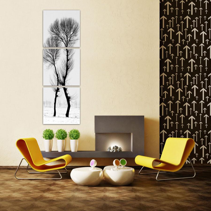 Modern Design Black And White Tree Schilderij Bestel Nu Op