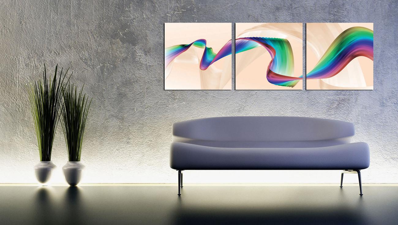Modern Interieur Schilderij : D abstract modern olieverf schilderij cm te koop