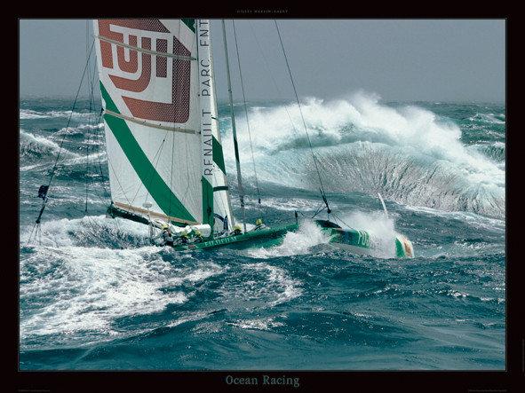 Stampe d arte ocean racing for Cornice poster 61x91