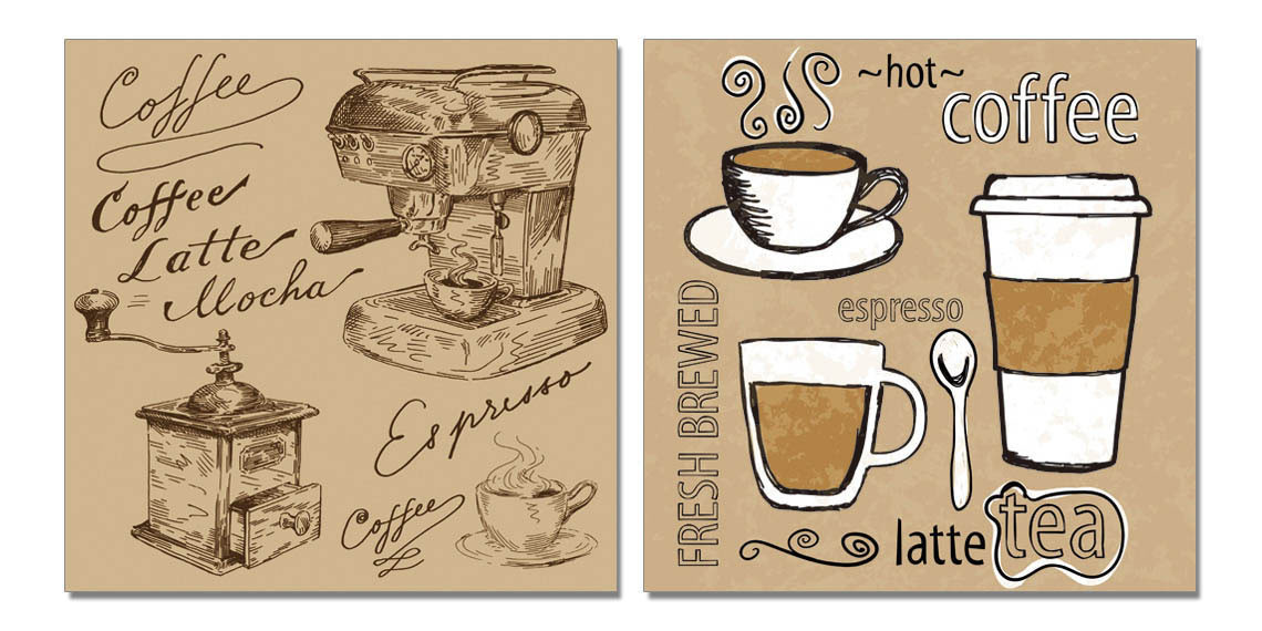 Coffee Tablou