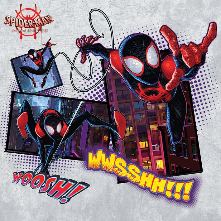 spiderman new generation  comic tableau sur toile
