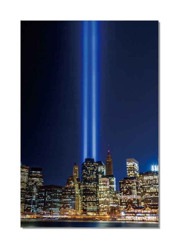 wandbilder bilder new york tribute in light bei europosters. Black Bedroom Furniture Sets. Home Design Ideas