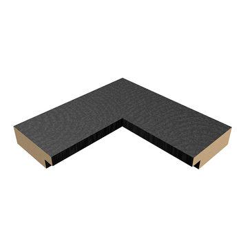 Slim plakáthoz keret 30,5x91,5cm fekete MDF keret