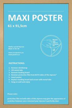 Lijsten - Poster 61x91,5cm eik MDF