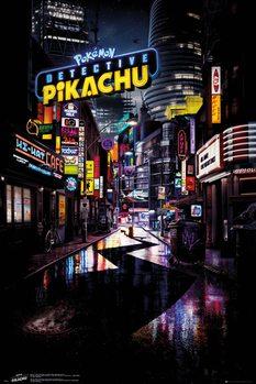Detective Pikachu Teaser Poster Affiche Acheter Le Sur
