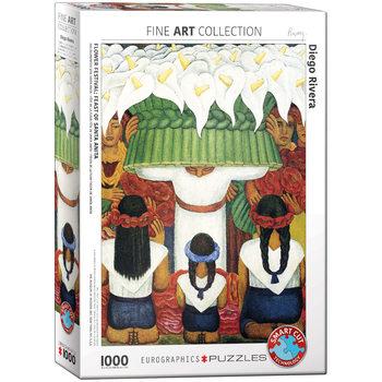 Παζλ Diego Rivera - Flower Festival Feast