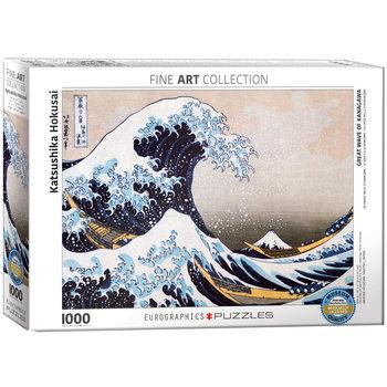 Παζλ Katsushika Hokusai - Great Wave of Kanagawa