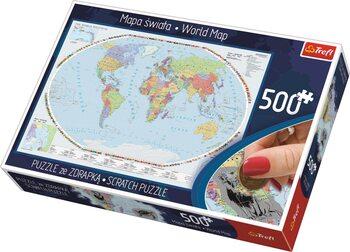 Παζλ Political Map of the World