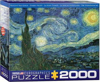 Παζλ Starry Night by van Gogh